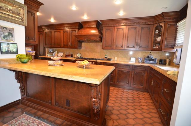 GLENDALE-AUBREY LN midcentury-kitchen
