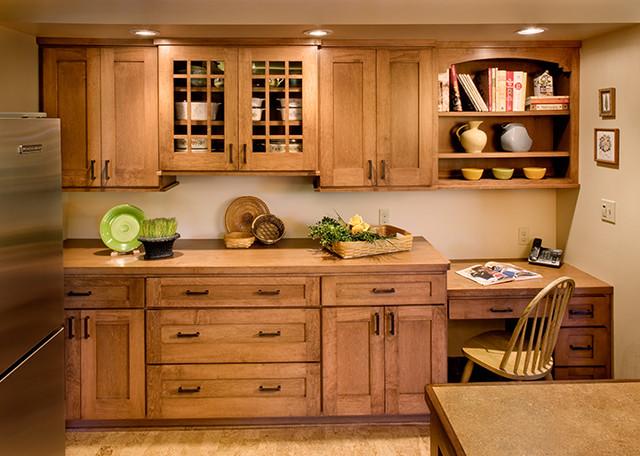 Prairie Style Kitchen - Sideboard - Craftsman - Kitchen ...