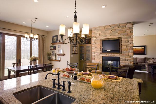 Glenview Custom Home Kitchen traditional-kitchen