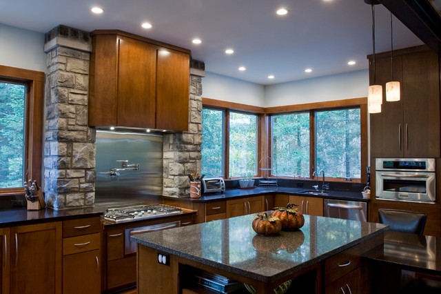 GLIDDEN HOUSE eclectic-kitchen