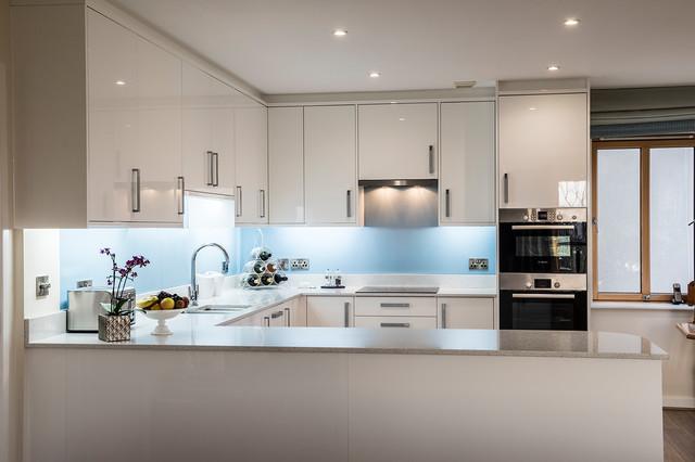 Modern kitchen in Other.