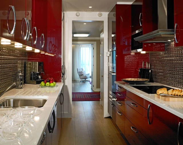 Gloucester Road Apartment contemporary-kitchen