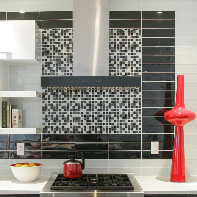 go with the flow modern-kitchen