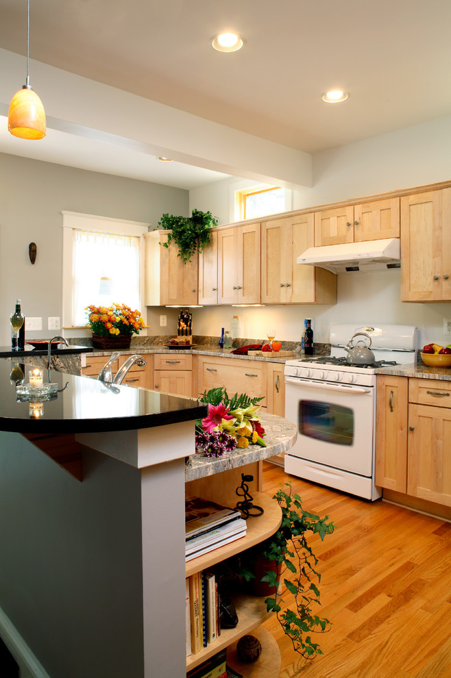 Gold Kitchen - Traditional - Kitchen - Baltimore - by ...