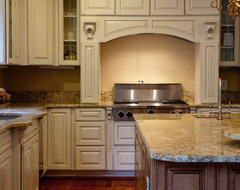 Golden Beach Granite Kitchen traditional kitchen