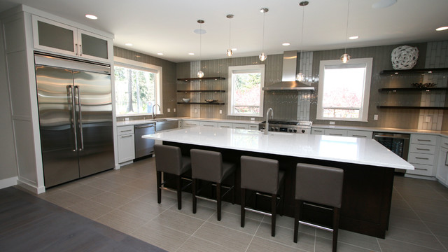 Golf Course Home Contemporary Kitchen Other Metro By Taylor Design