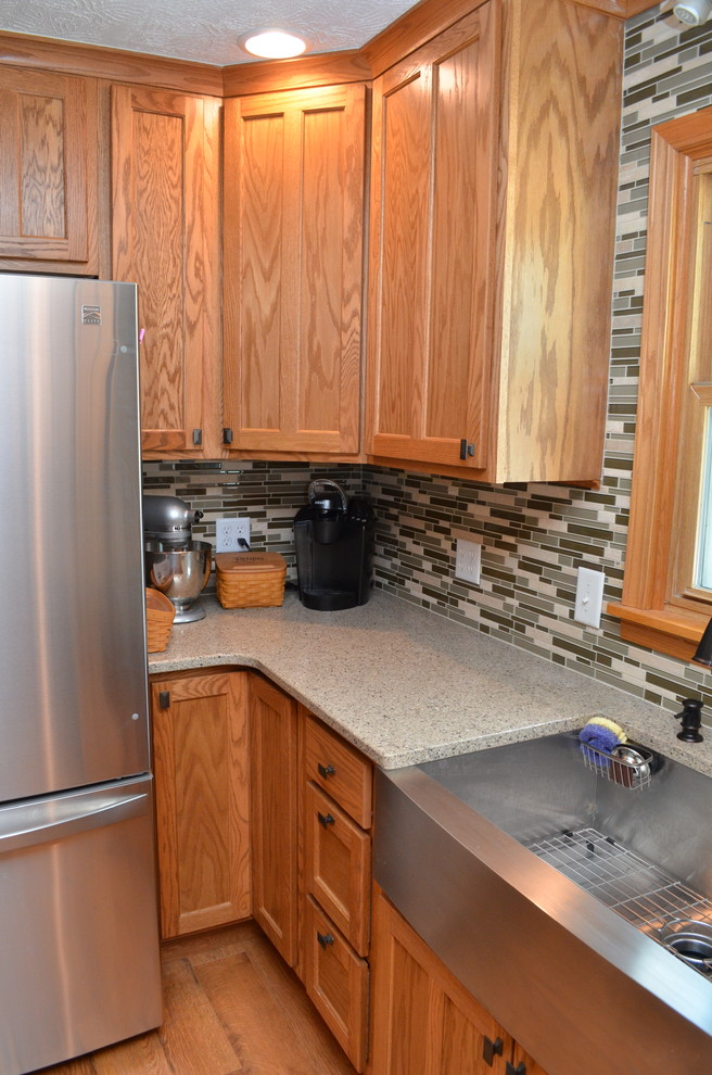 Goodland, IN. Haas Signature Collection Oak Honey Kitchen ...