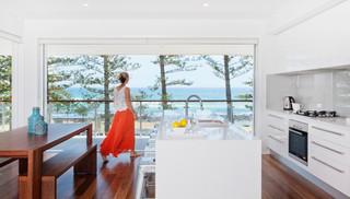 Goodwin Tce Beach Style Kitchen Gold Coast Tweed