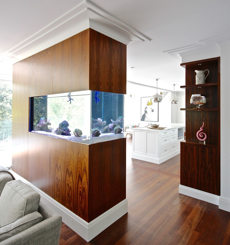 GORDON PROJECT - Built in fish tank - Contemporary ...