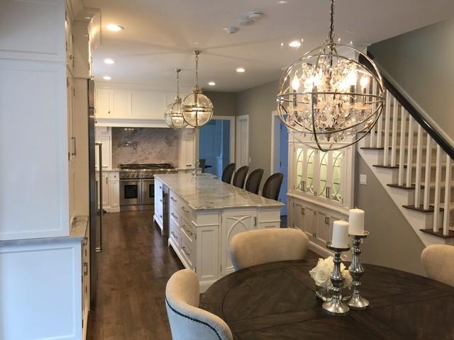 Gorgeous Bedford Kitchen Transitional Kitchen