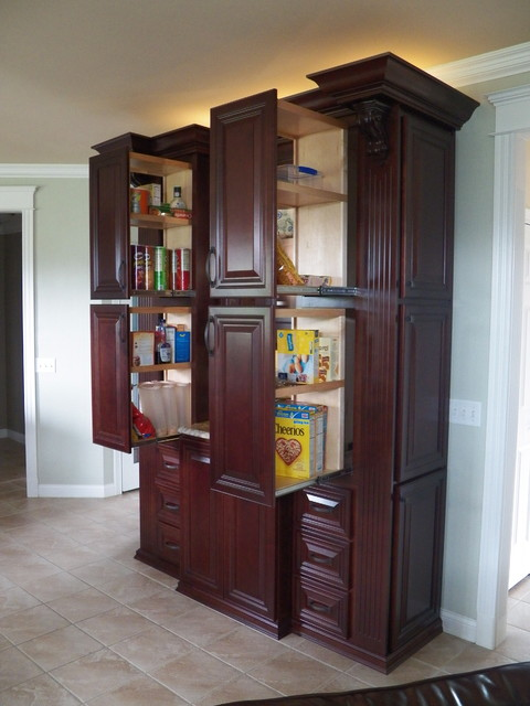 Custom Pantry Traditional Kitchen Cincinnati By Transformations Custo