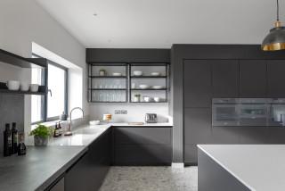 Grey And White Kitchen Ideas And Photos Houzz