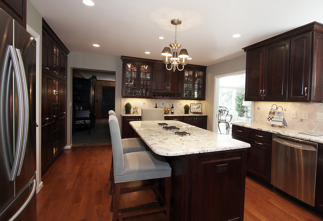 with countertop granite home beautiful kitchen cabinets awesome countertops light from of dark