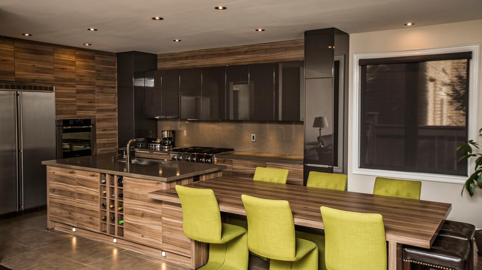 Gorgeous Modern Kitchen in Oakville - Modern - Kitchen ...