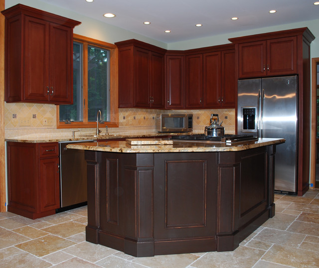 Got granite custom cabinet refacing in tewksbury nj for Kitchen cabinet refacing