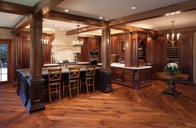 Gothic KitchenTraditional Kitchen San Francisco & Gothic Kitchen - Traditional - Kitchen - San Francisco - by LLOYDS ...