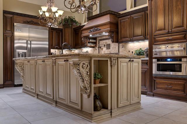 Christine 39 s kitchen traditional kitchen phoenix by for Allure kitchen cabinets