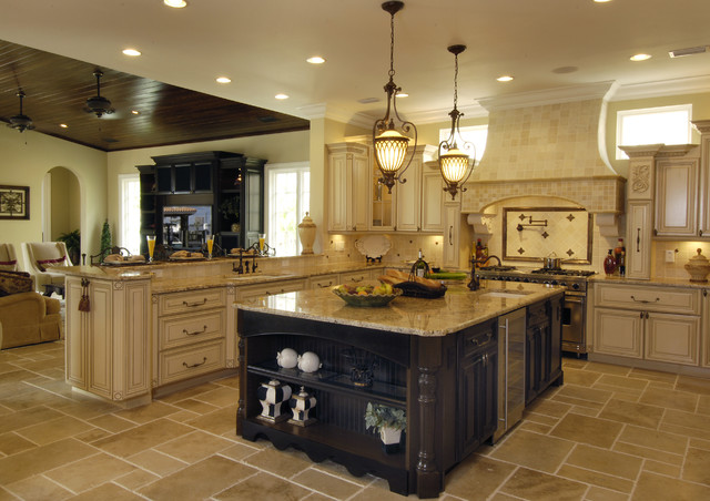 Houzz home design decorating and renovation ideas and for Gourmet kitchen designs