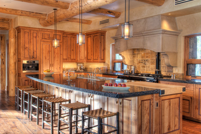 Gourmet kitchen rustic kitchen other metro by interiors by