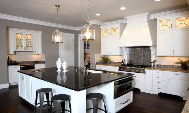 Gourmet Kitchen - Contemporary - Kitchen - other metro - by Instyle Interiors