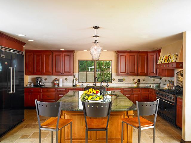 Gourmet Kitchen traditional-kitchen