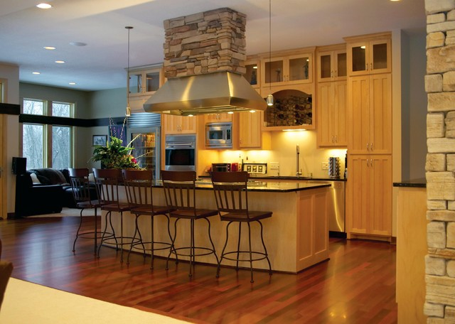 Gourmet Kitchen Modern Kitchen Minneapolis By