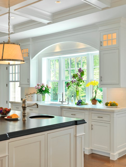 Graceful Gambrel Traditional Kitchen Boston By Jan