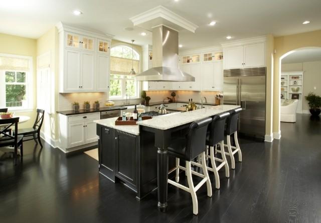 Graham Hill Road Residence Kitchen 2 transitional-kitchen