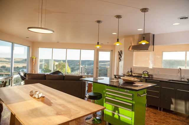 contemporary modern kitchens grain bin residence contemporary kitchen other metro 2537