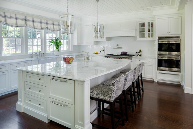 Grand Country House Traditional Kitchen Other Metro