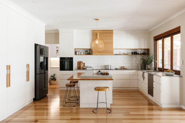 Grand Design Contemporary Kitchen Adelaide By Space Craft Joinery