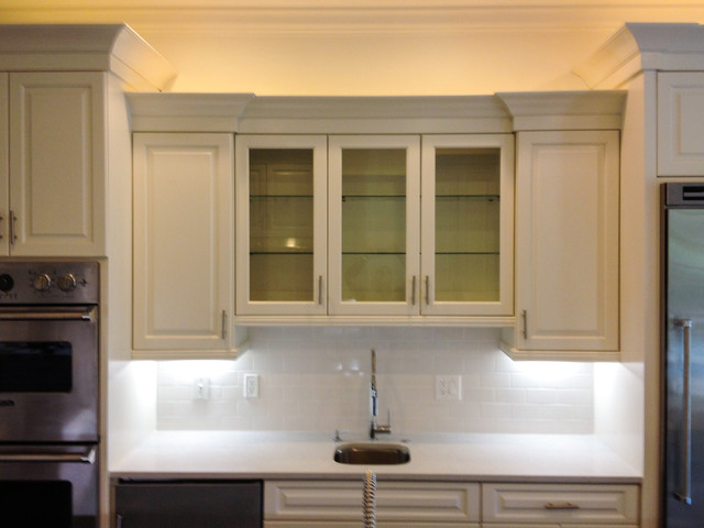 Painted Foyer Cabinets : Grand foyer with painted kitchen cabinets transitional