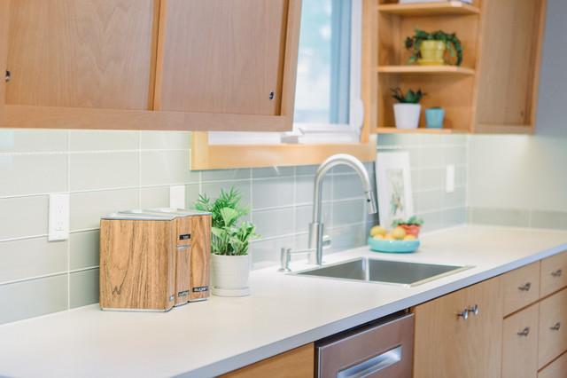 Grand Haven Midcentury Modern Kitchen midcentury-kitchen