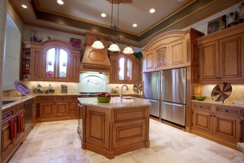 Grand Kitchen, The Heart of The Home traditional-kitchen