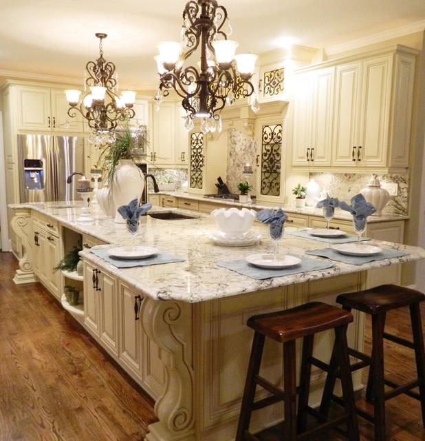 grand kitchen transformation traditional kitchen