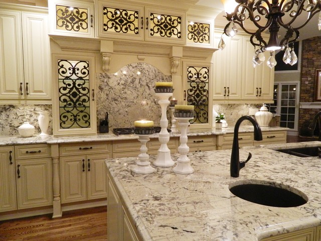 Grand Kitchen Transformation - Traditional - Kitchen ...