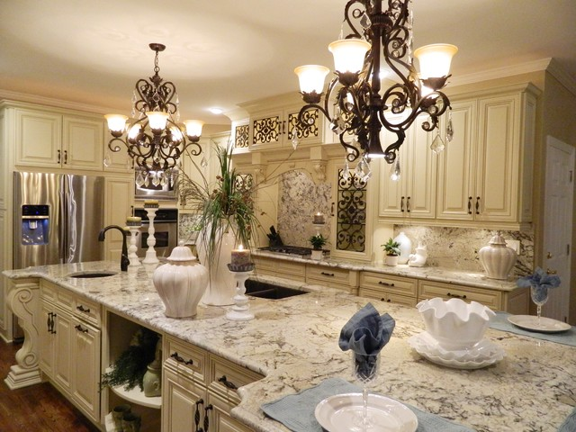 Grand kitchen transformation traditional kitchen other by isd kitchen and bath renovations - Grand design kitchens ...