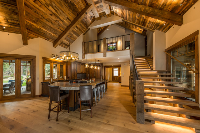 Grand Lake Mountain Lake Home Rustic Kitchen Denver By Chillcoots