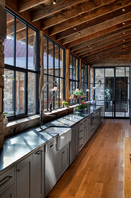 Hill Country Ranch Rustic Kitchen Austin By Rehme