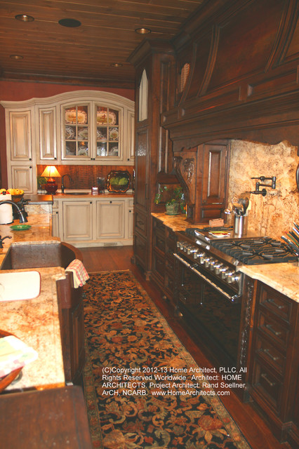 Grand Mountain Retreat at Highlands traditional-kitchen