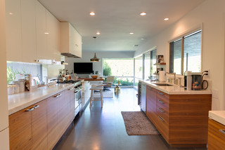 Grand Open Floor Plan Kitchen