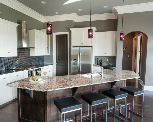 Grand pointe residence lafayette la contemporary kitchen new orleans by moss manor for Interior designers lafayette la