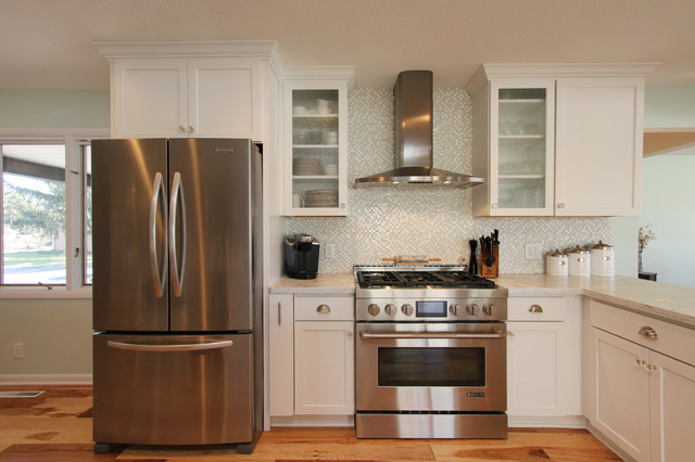 Grand Rapids 1970's Ranch Remodel - Transitional - Kitchen - Grand ...