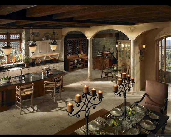 Tuscan Kitchen Design Ideas, Pictures, Remodel and Decor