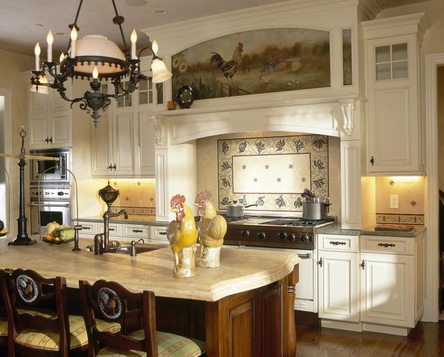 Grand Westchester County Estate rustic-kitchen
