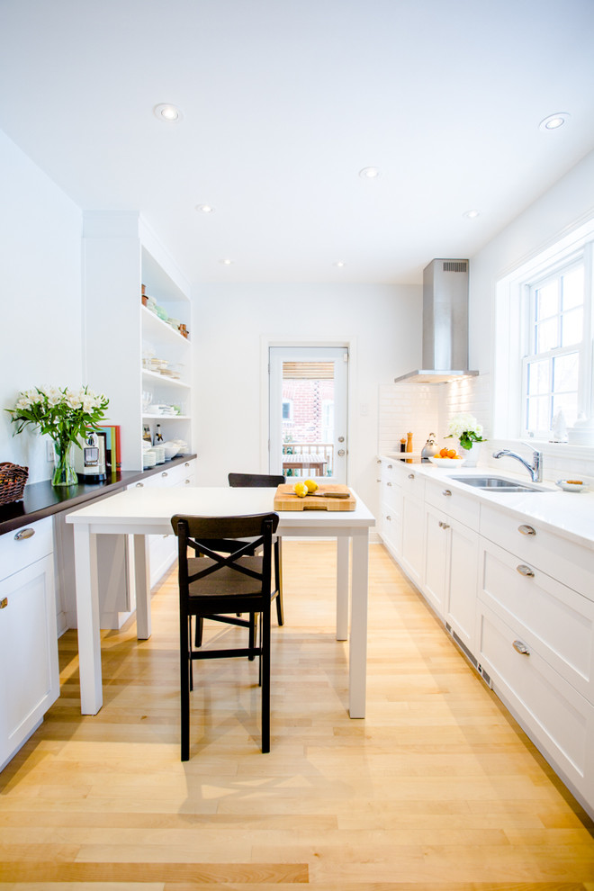Grande boulevard Home - Traditional - Kitchen - Montreal ...