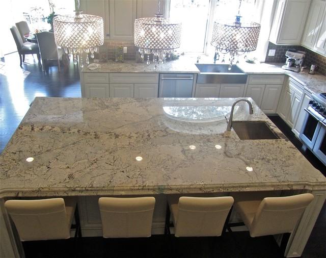 engineered quartz countertops. Granite And Engineered Quartz Countertops American-traditional-kitchen R
