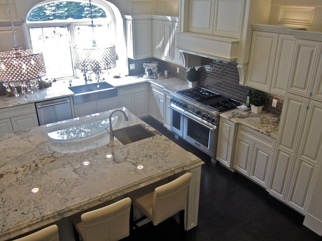 Engineered Stone Countertops : Granite and Engineered Quartz countertops - Traditional - Kitchen ...