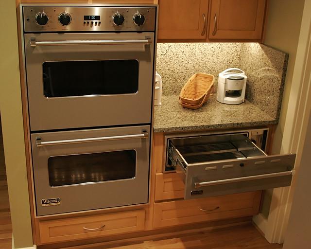 Double Oven & Warmer - Contemporary - Kitchen - richmond ...