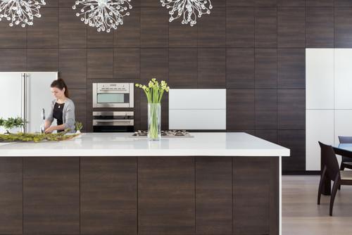 Credenza Cucina Con Piano Di Lavoro : Come progettare una cucina funzionale da tenere sempre in ordine